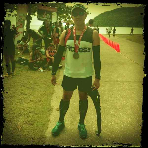 Survived 3 cramps on my way to finishing CIHM in 2011