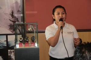 Suunto Brand Manager Mascy Cabuhat-Pineda introduces Suunto and the new Ambits.