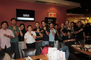 Bloggers and Media with their New Suunto Ambit 2S and Ambit 2 with Suunto Brand Manager Mascy Cabuhat-Pineda
