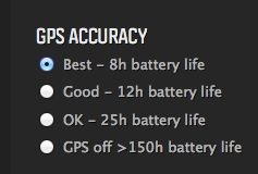 Choose your ideal battery life