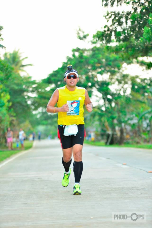 Running in Siargao in 2013